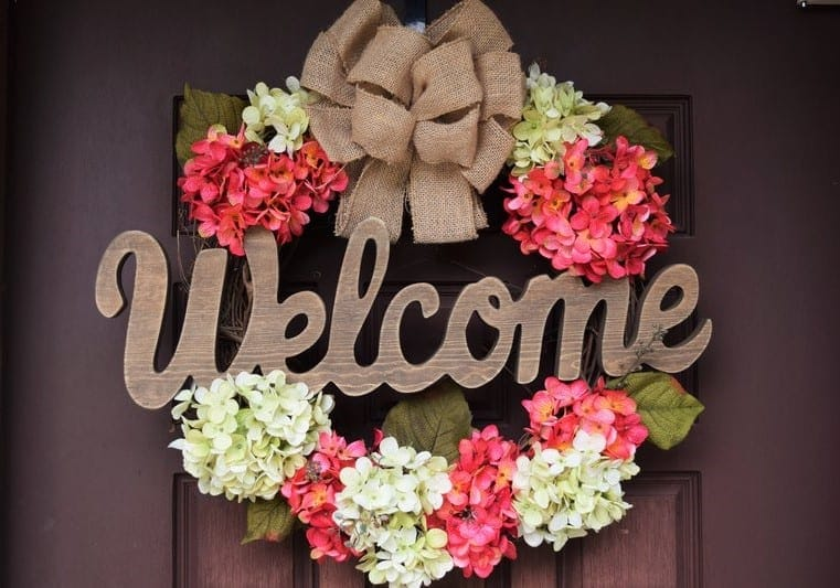 DIY Wreath perfect for fall