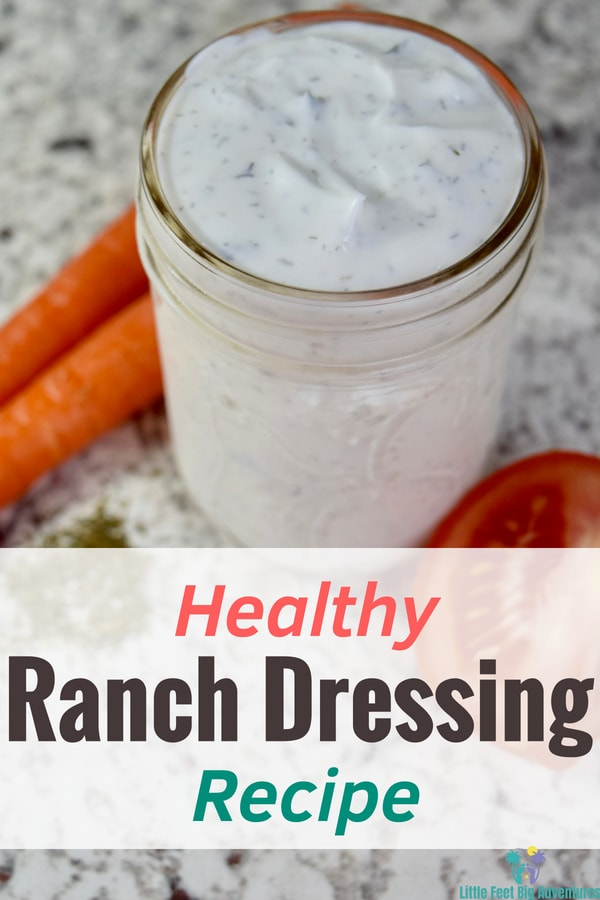 Healthy Ranch Dressing. This is an  easy recipe for making your very own ranch dressing at home. #recipe #DIY #ranchdressing #healthyrecipes