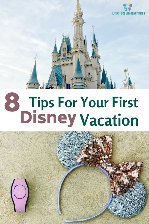 Tips for your disney vacation. Plan ahead for your first visit to Disney World. #waltdisneyworld #disneyworld #disney #familytravel #disneytips