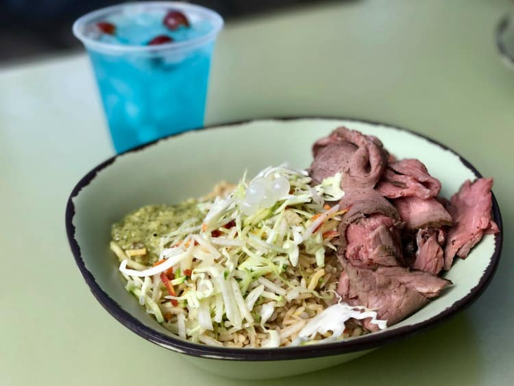 The food is one of the three reasons why you should visit Pandora