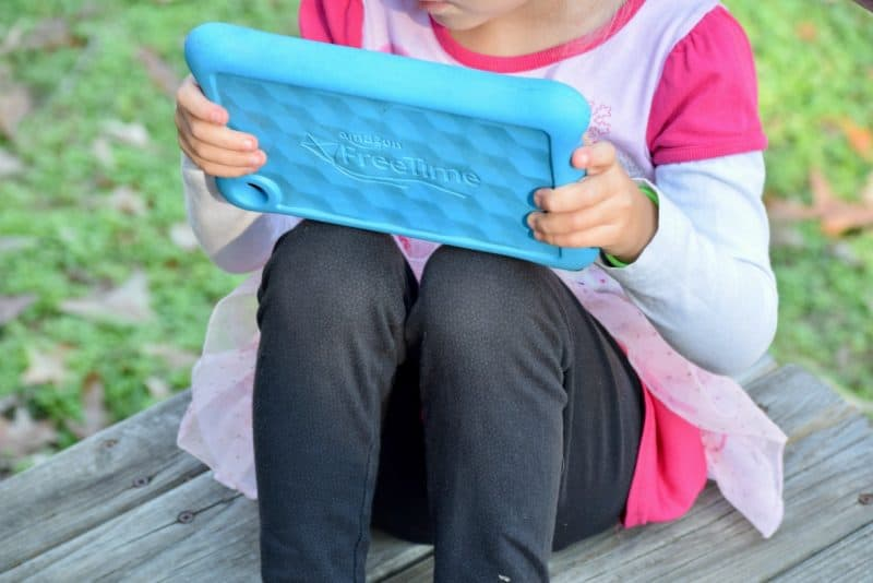 The most kid-friendly tablet and perfect for kids who travel with their family.
