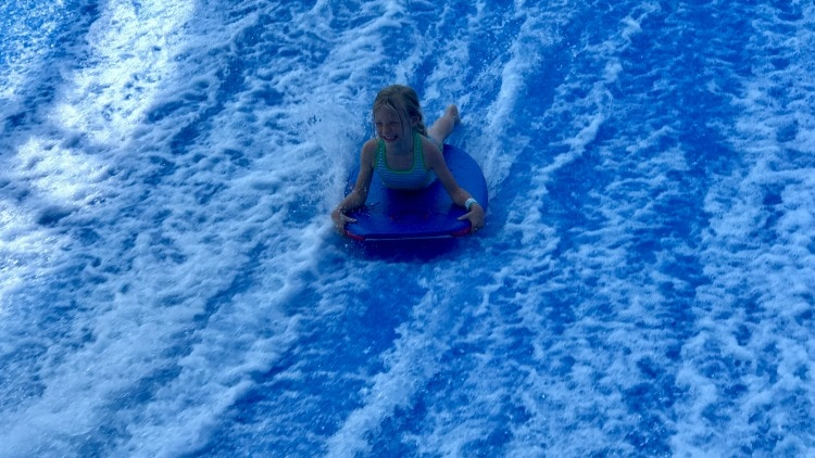 Try the flowrider at Epic Waters