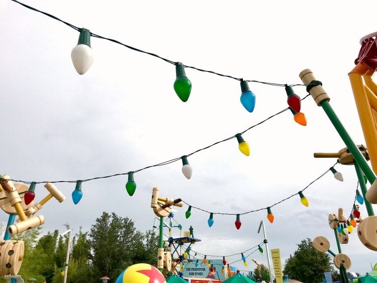 You'll feel the size of a toy at Toy Story Land