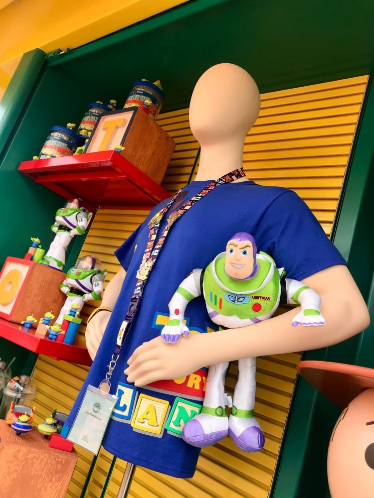 Fun merchandise at Toy Story Land