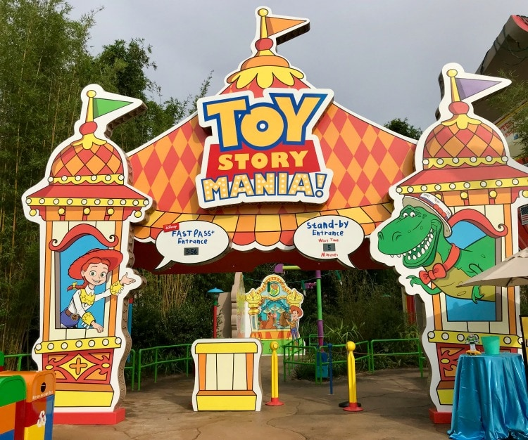 Toy Story Mania is fun for everyone at Toy Story Land