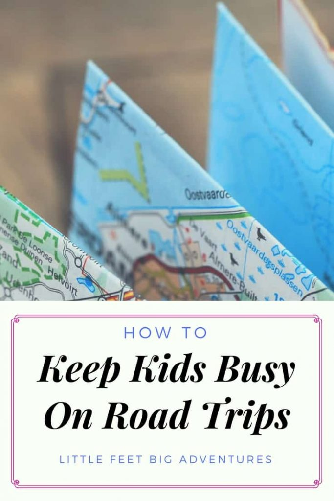 A great tip for keeping kids busy during road trips. We have found that road trip treasure hunting is fun for the whole family.