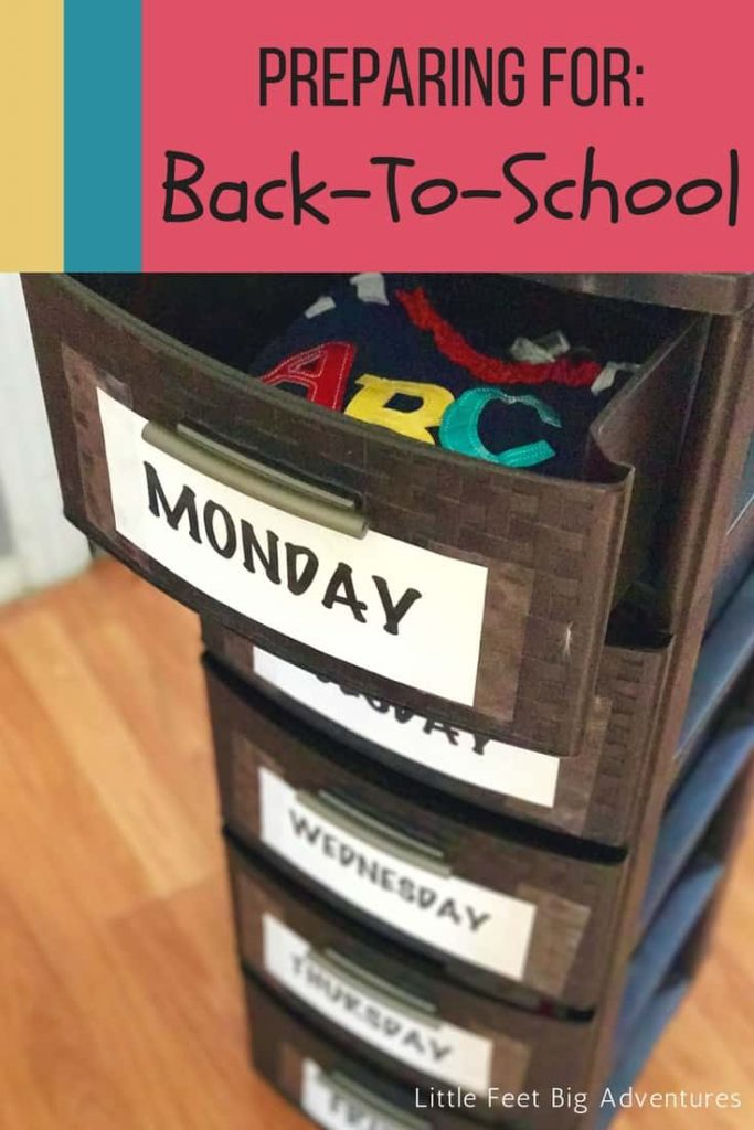 Preparing for back to school time. Here is everything to get ready before the first day of school.