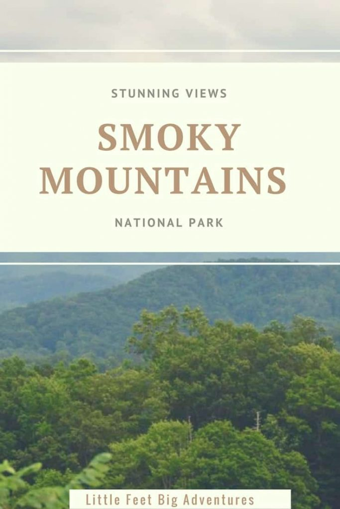 Stunning Views at the Smoky Mountains National Park. A great destination for family travel.