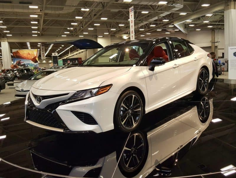 The beautiful 2018 Toyota Camry