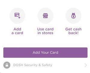 Saving with the DOSH app
