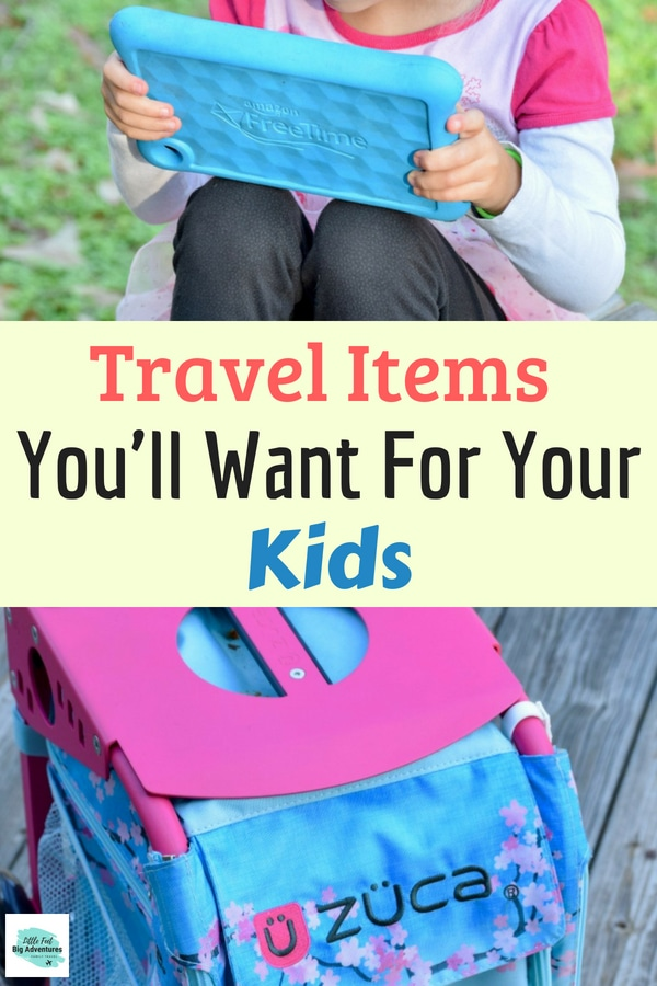 Travel items for kids and family travel. Family travel tips and advice. #Familytravel #traveltips #traveladvice #travelingwithkids