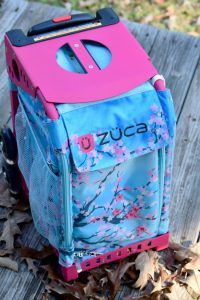 The ZUCA bag is stylish and durable. Perfect for families who travel.