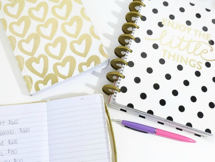 Use a planner to get on track and help you reach your financial goals