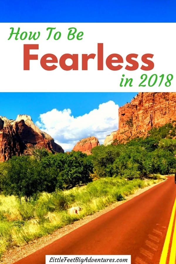 How to be fearless and confident. Be motivated to take on this goal in 2018. #goals #2018 #selfcare #motivation