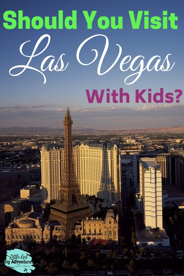 Should you visit las vegas with kids? Travel tips for Las Vegas. Traveling to Las Vegas with Kids, a list of things to do. Kid-friendly activities in Vegas. #lasvegas #familytravel #vegastips #traveltips