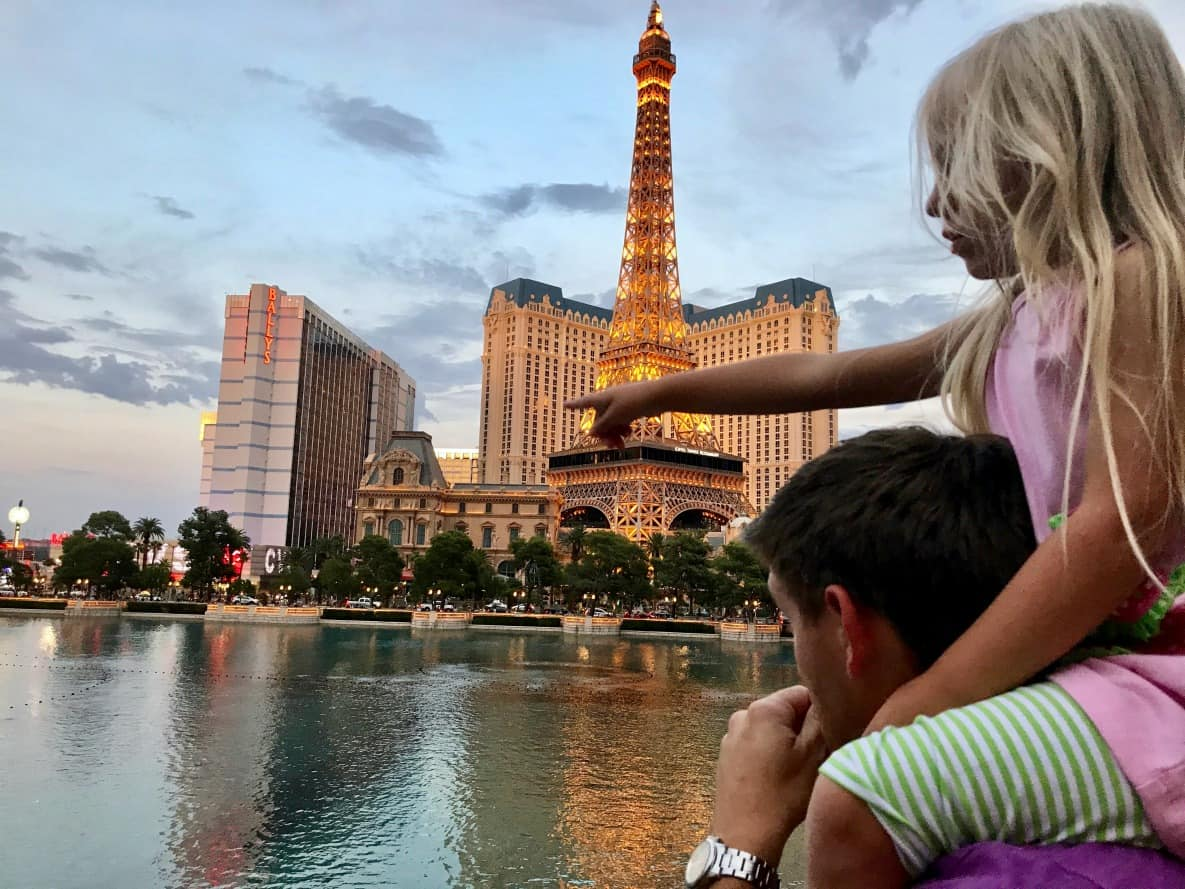 When visiting Vegas with kids there are some tips that will help you preapre.