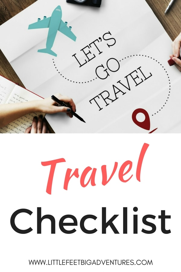 Download this FREE printable travel checklist. Plan your next vacation. #download #printable #free #planning #vacation #travel