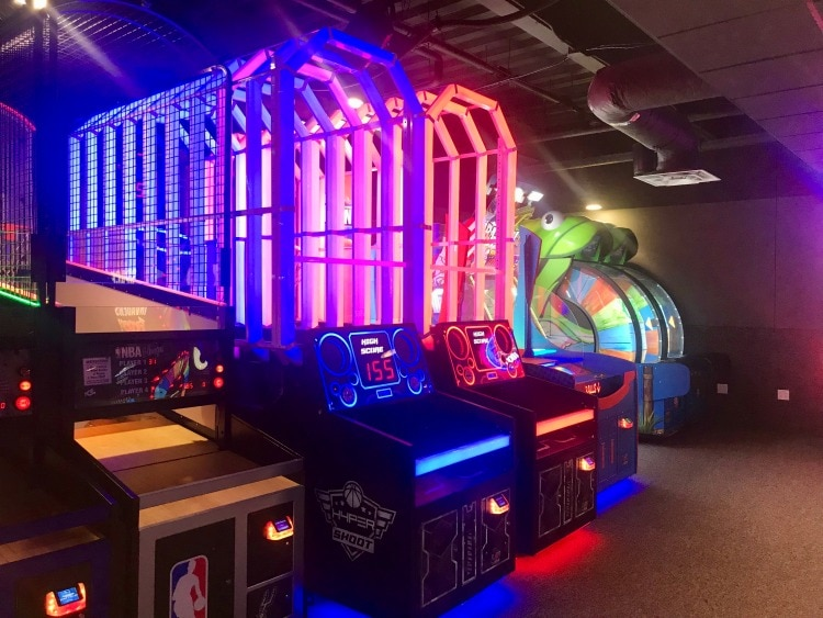 The Epic Waters Arcade is sure to be fun for the whole family!