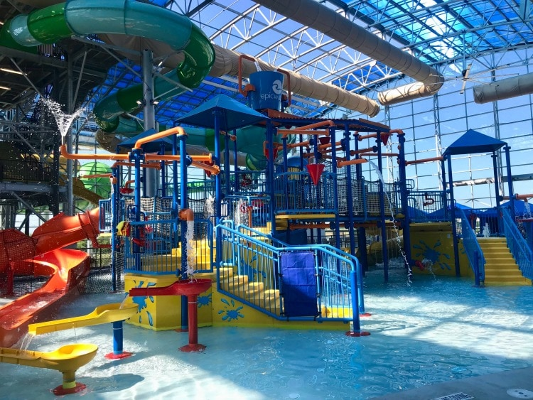 The fun aquatic for made just for kids at Epic Waters.
