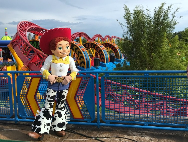 Meet your favorite characters from the movie at Toy Story Land