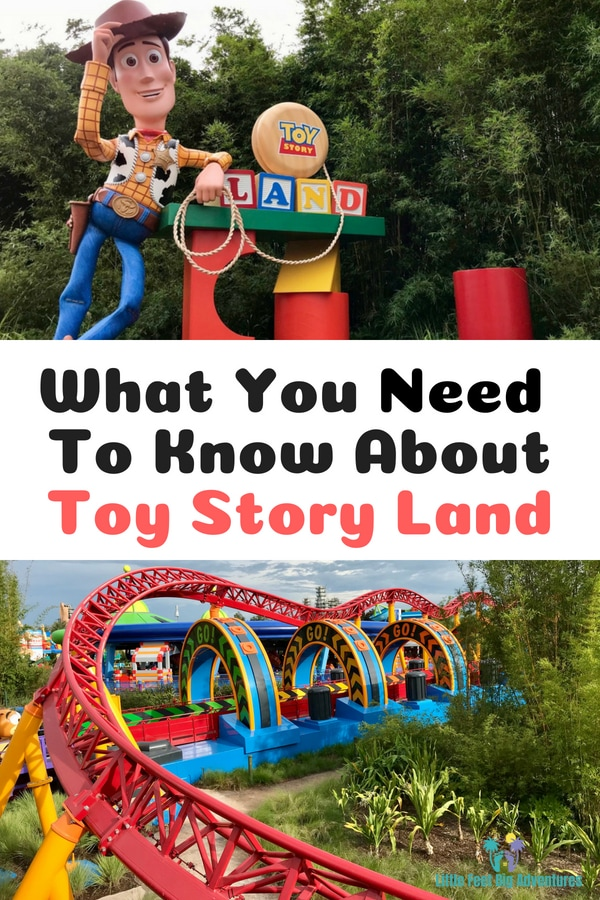 What you need to know about Toy Story Land at Walt Disney World Hollywood Studios. #ToyStoryLand #WaltDisneyWorld #Disney #ToyStory #DisneyRides #DisneyFoods #DisneyTips #traveltips #familytravel