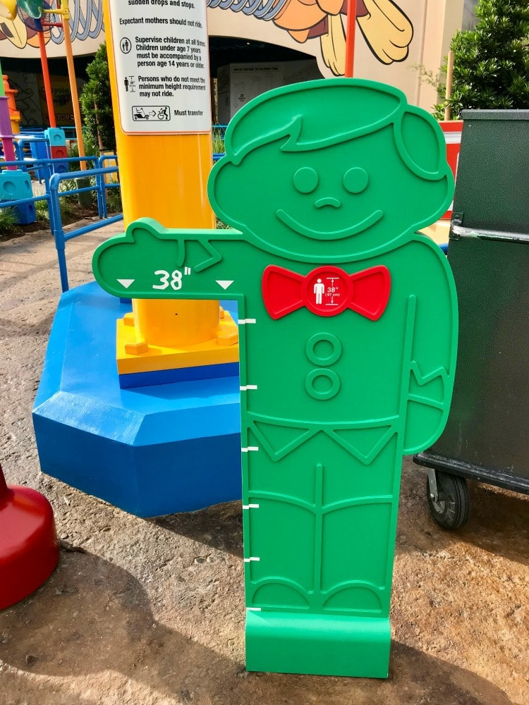 "The height requirement for the Slinky Dog Dash is 38"" at Toy Story Land"