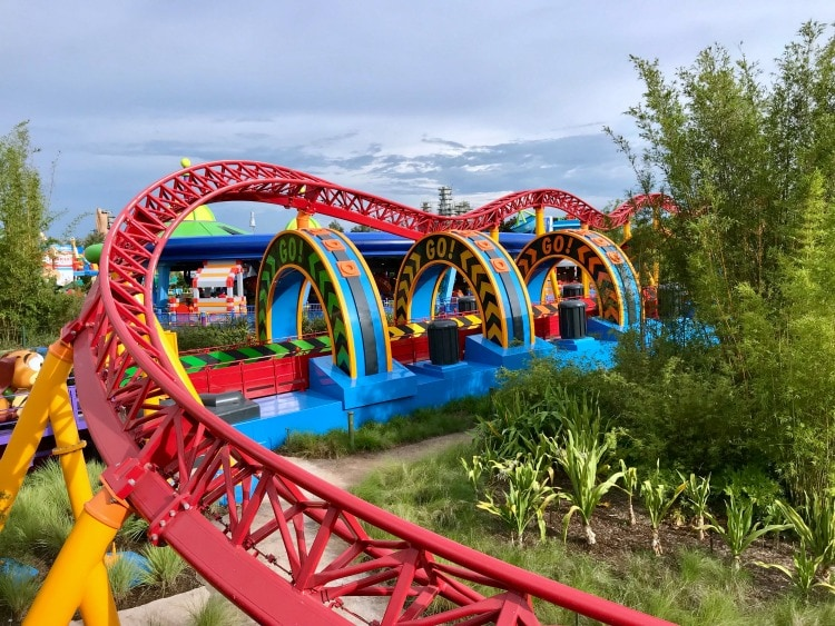 You're new favorite ride might be the Slinky Dog Dash at Toy Story Land