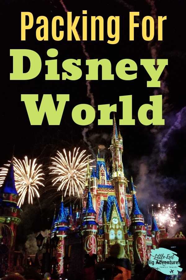 Taking a family vacation to Disney World? If it's your first time to go check out these tips and hacks for packing. The suggestions are great for those on a budget. This list will help save you time and money, a 2019 checklist. #Disneyworld #packinglist #disneyhacks