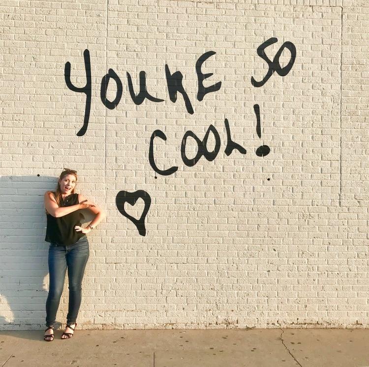 Wall in Lubbock, Texas