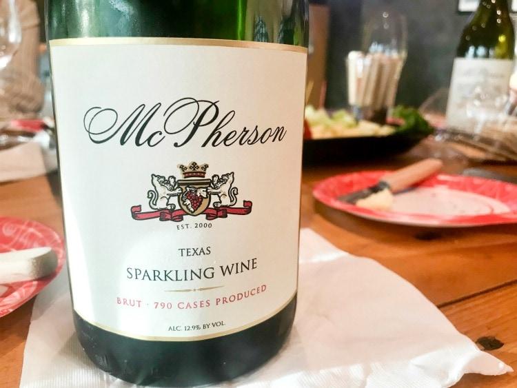 McPhearson Cellars Wine Tasting