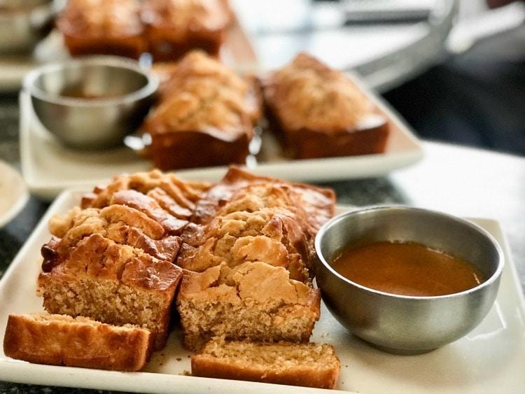 Peanut Bread at La Brisas Steakhouse
