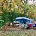 Family camping trips are easy when you have a camping checklist printable to help you pack.