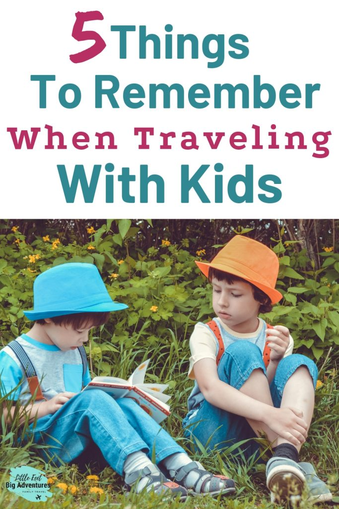 Traveling with kids tips and advice