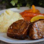 Honey garlic pork tenderloin recipe, a great dinner idea.